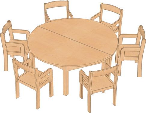 kindergarten tische gruppenraum tische und st hle set 2 kindergarten. Black Bedroom Furniture Sets. Home Design Ideas