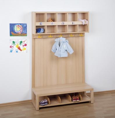 Kindergarten f r for Garderobe kindergarten