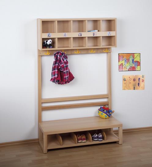 Kindergarten komplettgarderobe f r for Garderobe kindergarten