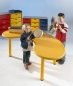 Preview: Kindergartentisch gelb