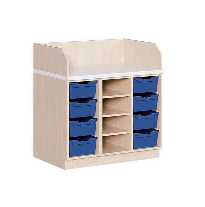 kindergarten mit 8 ergotrayboxen. Black Bedroom Furniture Sets. Home Design Ideas