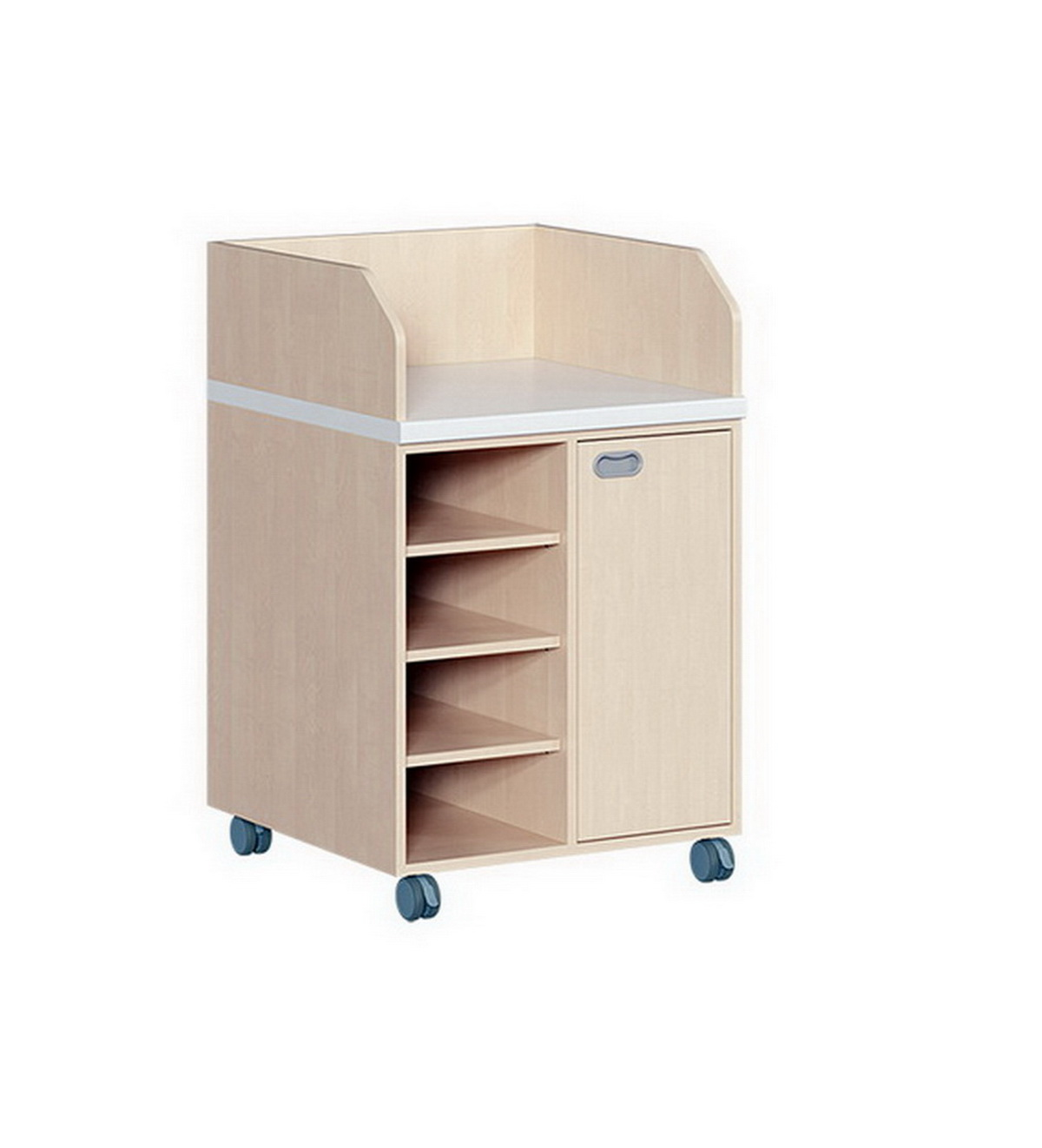 kindergarten mit regal und t r. Black Bedroom Furniture Sets. Home Design Ideas