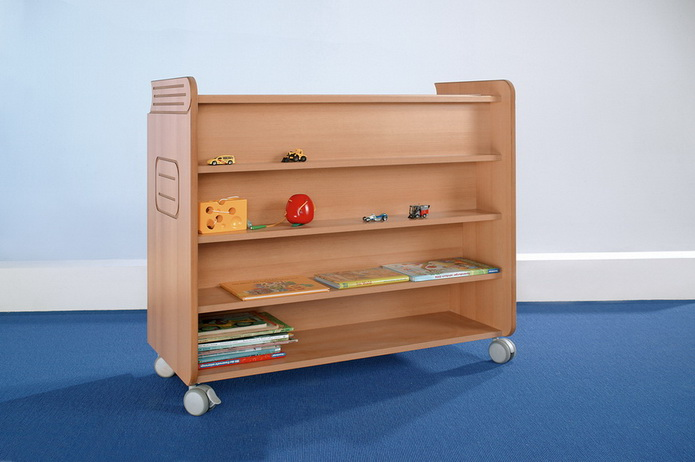 kindergarten bibliothek b cherregal. Black Bedroom Furniture Sets. Home Design Ideas