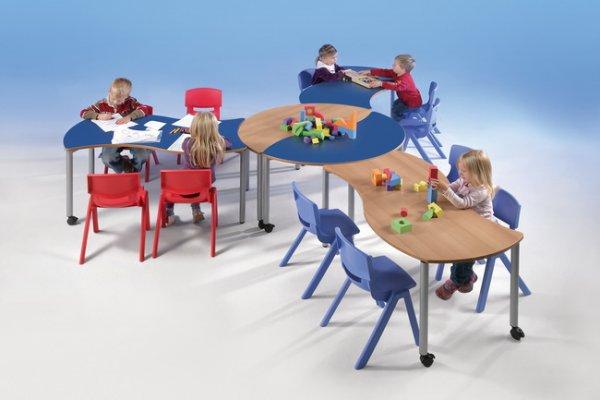 kindergarten stapelst hle kunststoff 12er sparset ab 319. Black Bedroom Furniture Sets. Home Design Ideas
