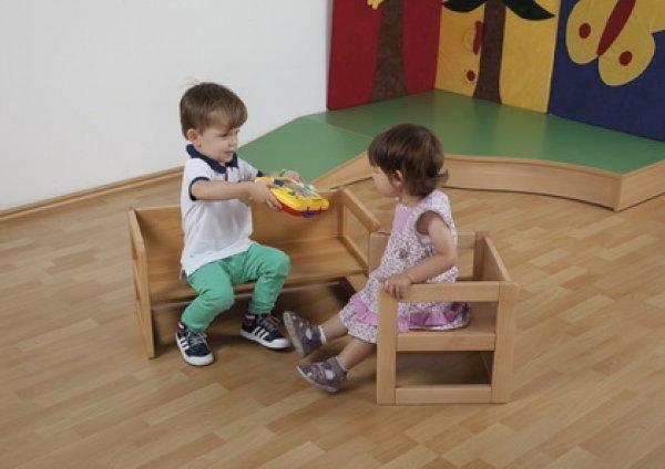 Kindergarten Moebel24desitzbank Mit Rückenlehne Für Kindergarten U